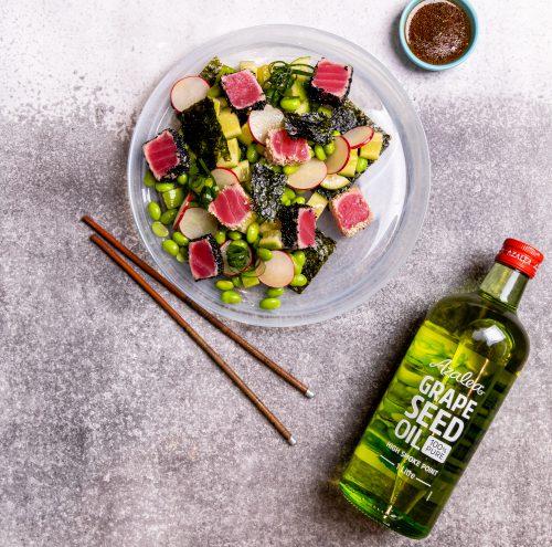 Seared Tuna Asian Salad