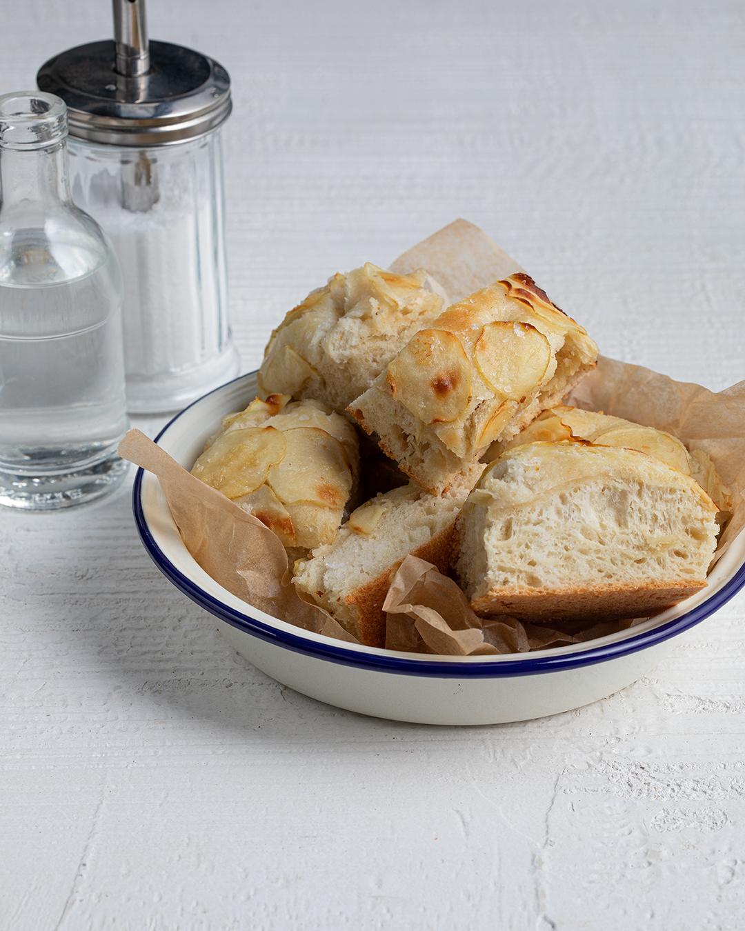 Salt and Vinegar Potato Focaccia